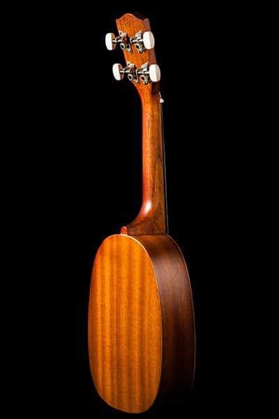 Ohana ukuleles pineapple shape mahogany soprano PK 10 back