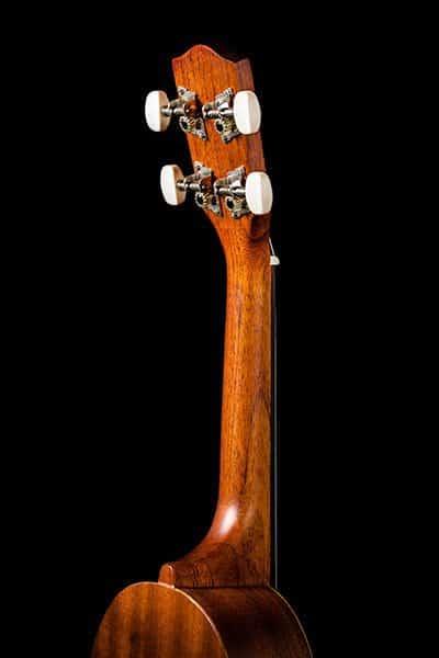 Ohana ukuleles pineapple shape mahogany soprano PK 10 headstock back