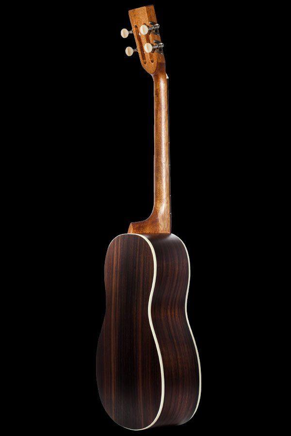 Ohana ukuleles solid spruce laminate rosewood baritone back BK 70