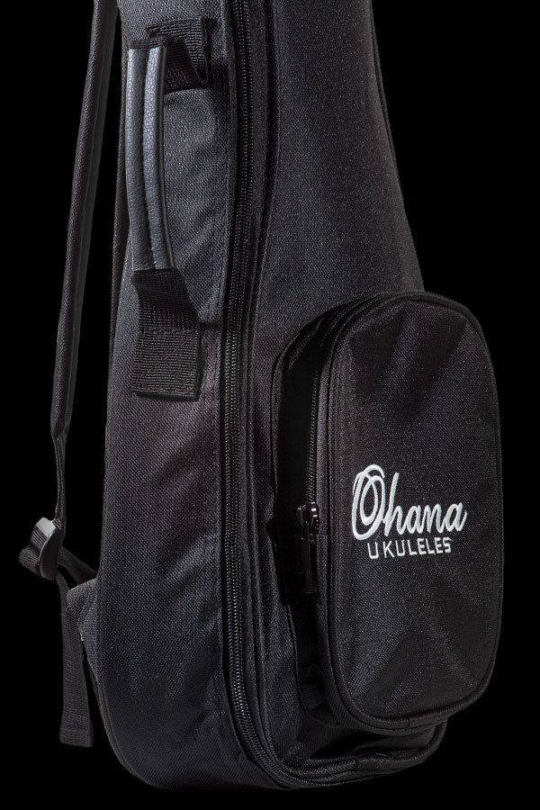 Ohana ukuleles embroidered logo gig bag UB