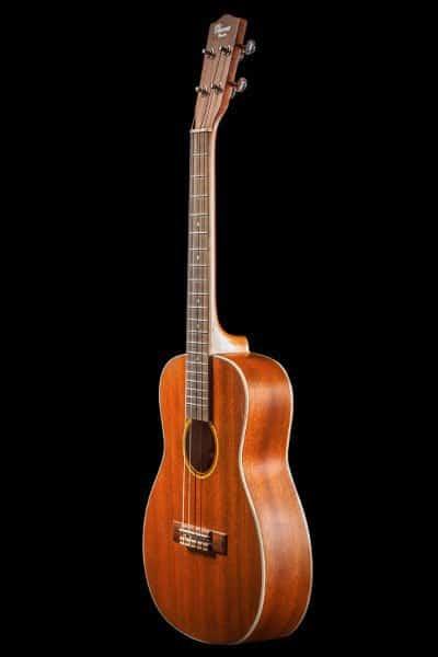 Ohana ukuleles solid top mahogany baritone front BK 20