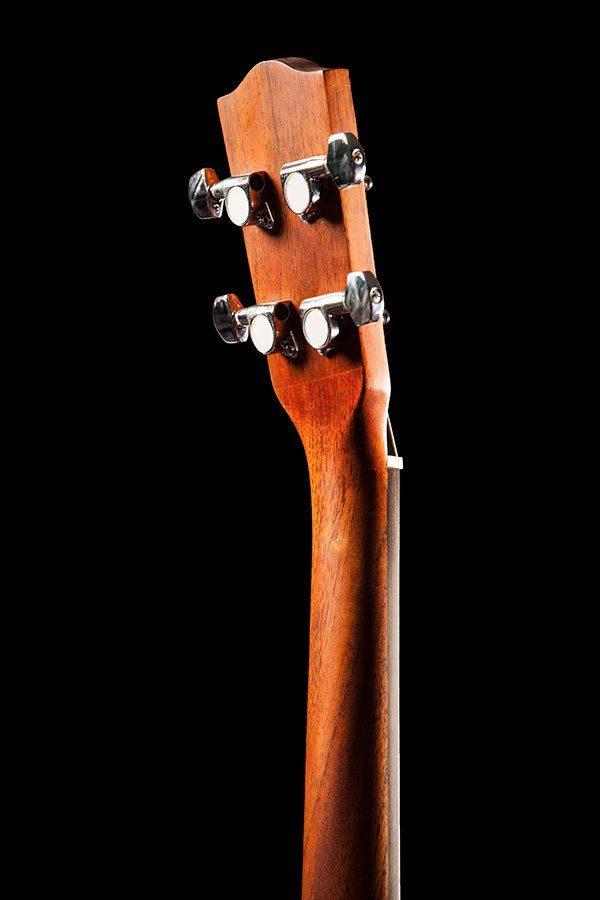 Ohana ukuleles solid top mahogany baritone headstock back BK 20
