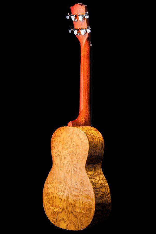Ohana ukuleles willow back front TK 15WG