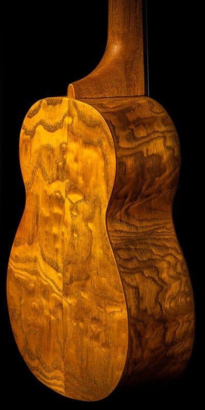 Ohana ukuleles willow soprano SK 15WG back details