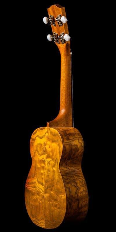 Ohana ukuleles willow soprano SK 15WG back