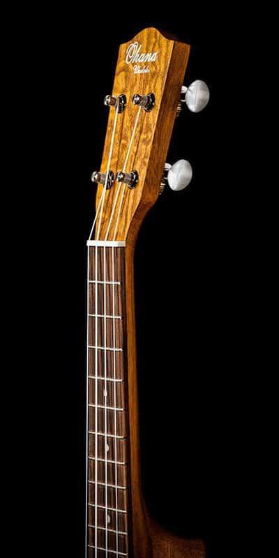 Ohana ukuleles willow soprano SK 15WG headstock front