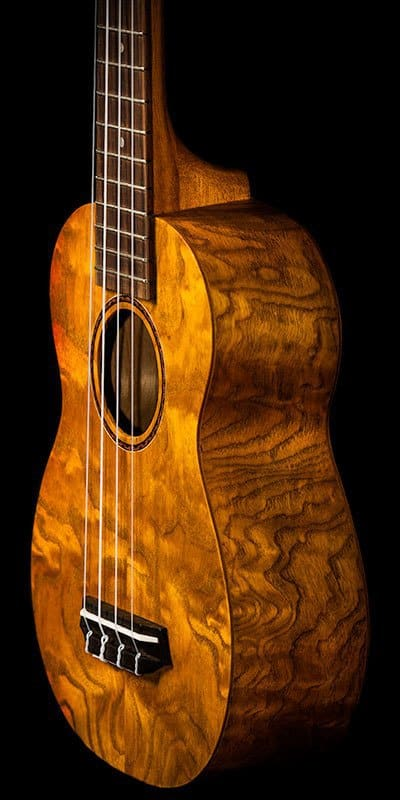 Ohana ukuleles willow soprano SK 15WG front details