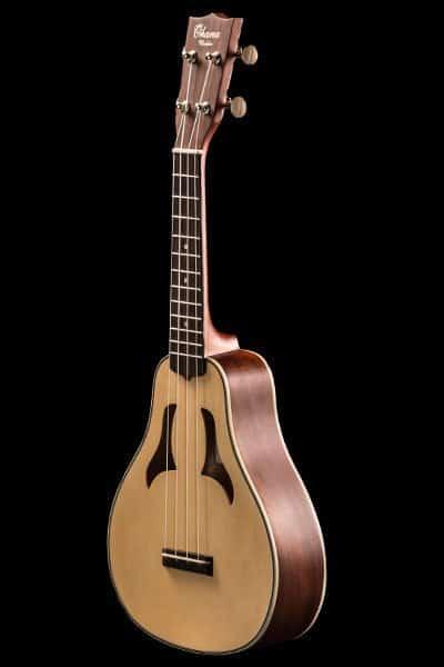 vita spruce and mahogany soprano front VK 70 ohana ukuleles