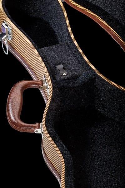 ohana tweed hardshell case UCT inside detail black