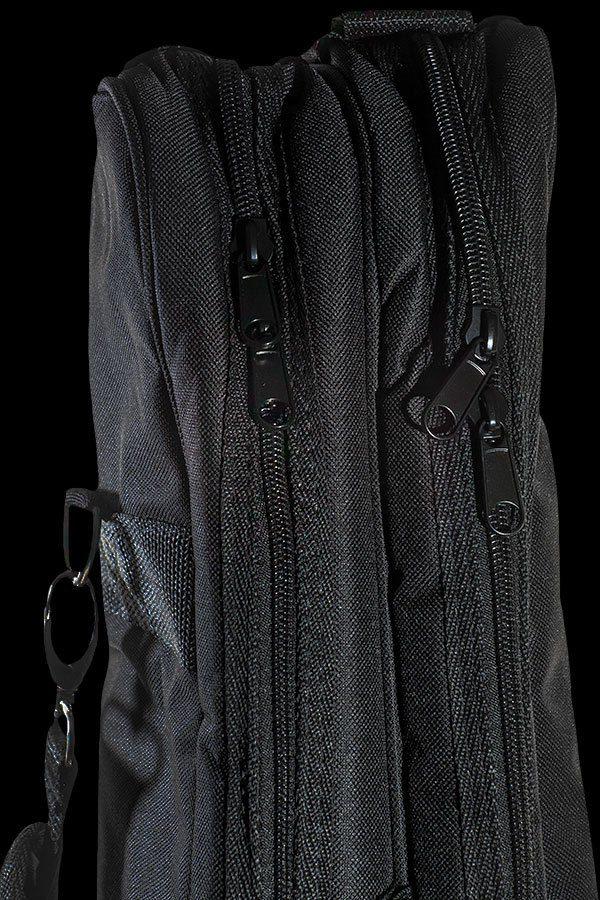 Ohana ukuleles DB2 gig zipper details GY