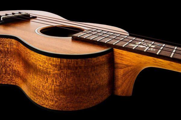 ohana ck 14cl synthia lin signature ukulele concert side details