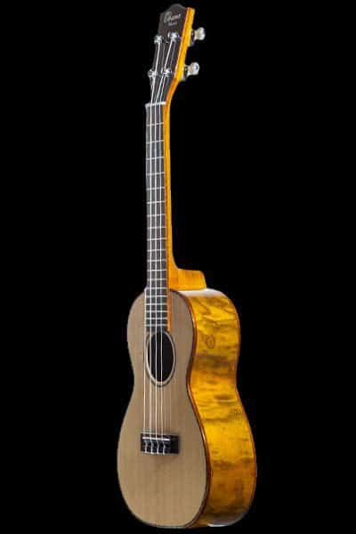 Ohana CK-70WG Solid Spruce and Willow Concert Ukulele