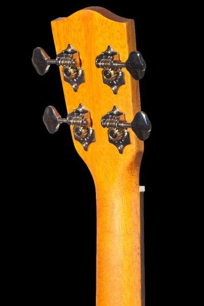 Ohana tenor electric with cutaway mahogany ukulele TK 20CE headstock back
