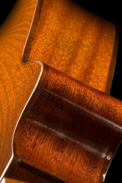 Ohana ukuleles all solid mahogany gloss cut away EQ concert angle 2 CK 35GCE