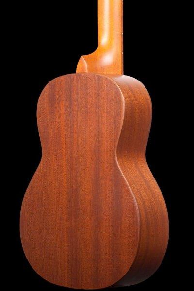 ohana all solid 8 string tenor solid spruce and mahogany TK 70 8 2019 back details