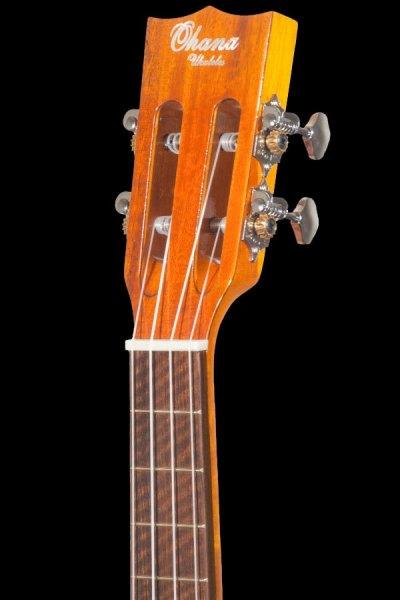ohana all solid tenor scale baritone solid spruce and acacia bkt 250g headstock